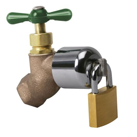 Lock For Outdoor Faucet by Outdoor Faucet Lock With Padlock