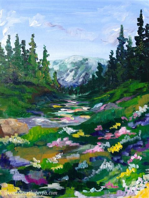 acrylic painting tutorial landscapes 17 best ideas about acrylic painting tutorials on