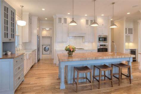 kitchen island paint color santorini blue   benjamin moore kitchens home home