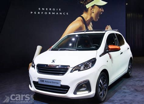 peugeot open top peugeot reveal roland garros special editions and 108