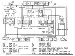first company air handler wiring diagram wiring diagram