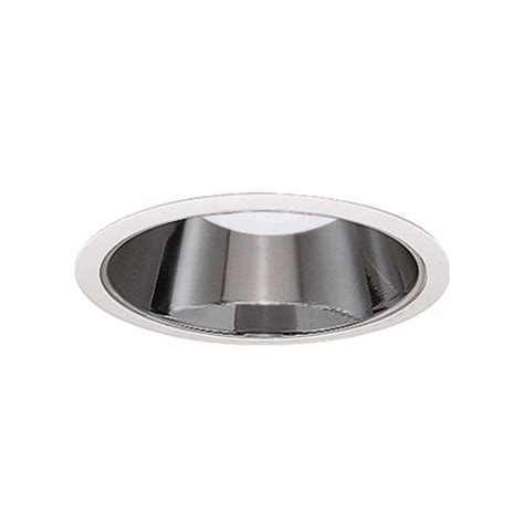 Ceiling Light Reflector Halo 4 In White Recessed Ceiling Light Specular Reflector Trim Ert403 The Home Depot