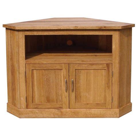 Corner Media Units Living Room Furniture Druid Oak Corner Tv Cabinet