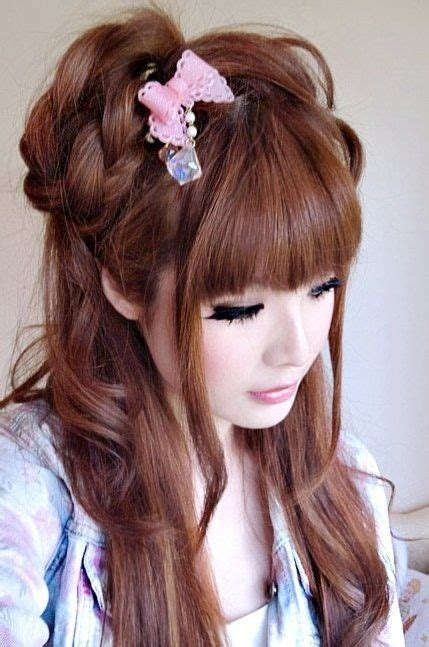 Japan Hairstyles by 709 Best Ulzzang And Gyaru Makeup Images On