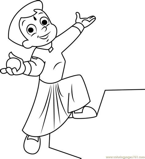 chhota bheem coloring pages games chhota bheem having laddu coloring page free chota bheem