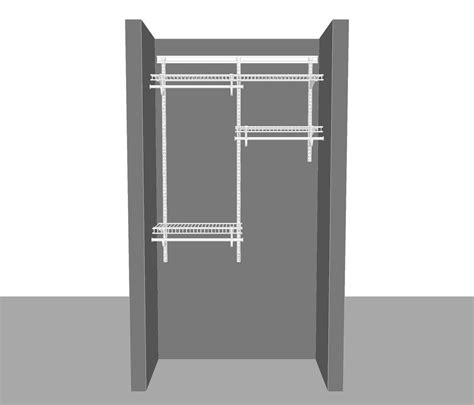 Where To Buy Closetmaid Products Adjustable Closet Package 1