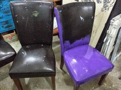 Painting Pleather Furniture by 1000 Images About Chalk Paint Projects On