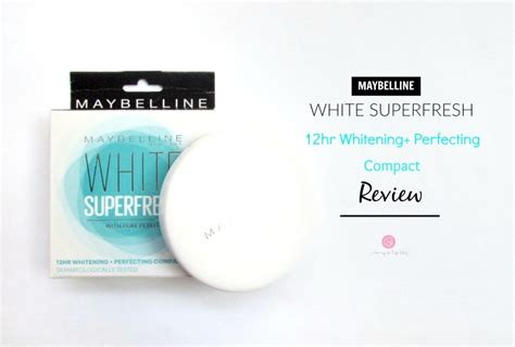 Maybelline White Fresh Refill maybelline white superfresh 12hr whitening perfecting compact review swatch price cherry on