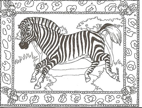 Animal Print Coloring Pages free printable zebra coloring pages for