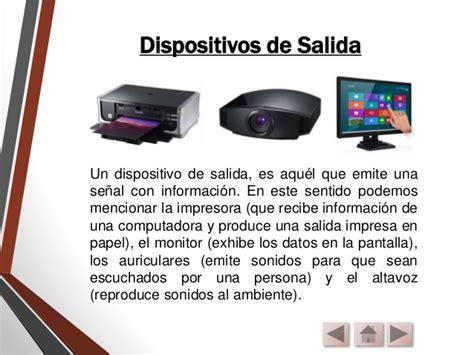 qu es un dispositivo 8433963791 dispositivos de salida monitores