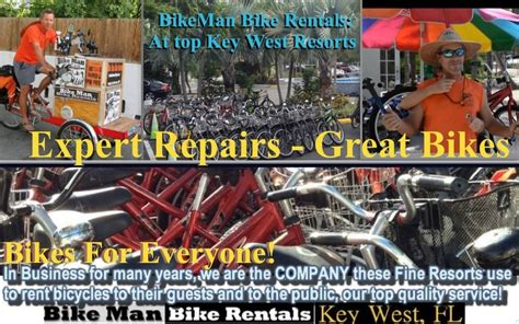 Bike Rentals Key West Reviews Bikeman Bike Rentals In Key West Florida Bicycle Service