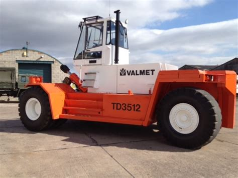 Valmet For Sale Uk Valmet Sisu Td 3512 Forklift Container Handler For Sale