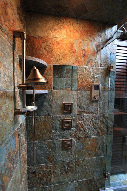 slate tile bathroom ideas slate tile home