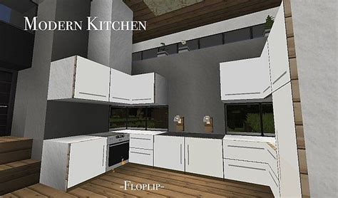 modern kitchen minecraft modern kitchen using item frames minecraft project