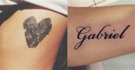 baby name tattoo ideas for moms tattoos to represent baby or child popsugar moms