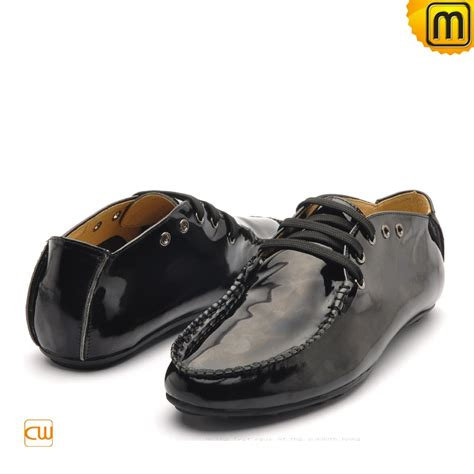 patent leather oxford driving shoes cw712086
