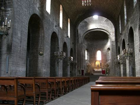 monastery inside the romanesque church of the