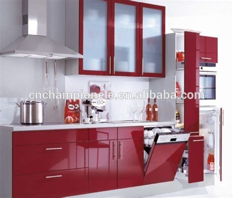 red kitchen cabinets for sale red lacquer high gloss kitchen cabinet for sale buy high