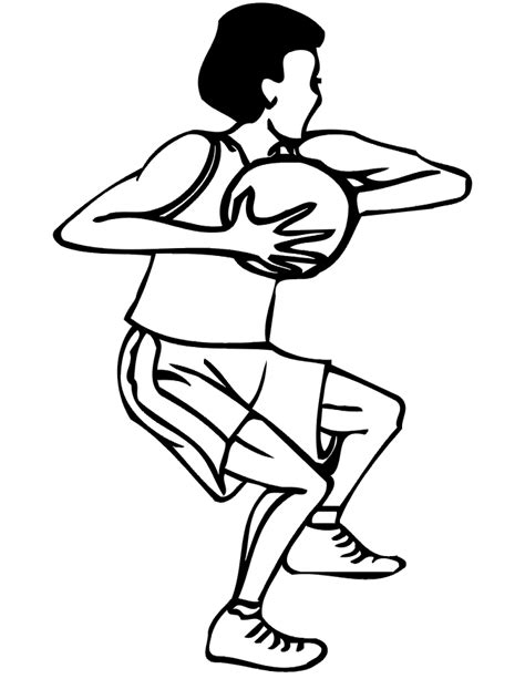 basketball cartoon coloring pages cartoon basketball pictures cliparts co