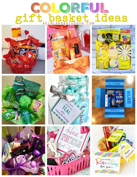 themed gift giving colorful gift basket ideas themed gift baskets sunshine