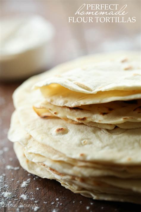 flour tortillas chef in
