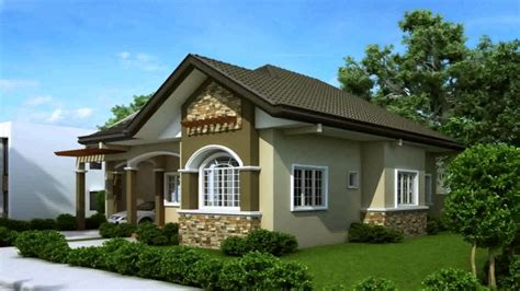 modern bungalow house designs and floor plans and prices