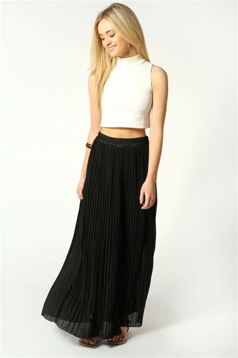 Black Maxi maxi black skirt dress