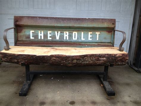 truck bench chevy truck tailgate bench benches pinterest to be