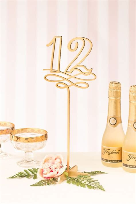 gold wedding table numbers 25 best ideas about gold table numbers on