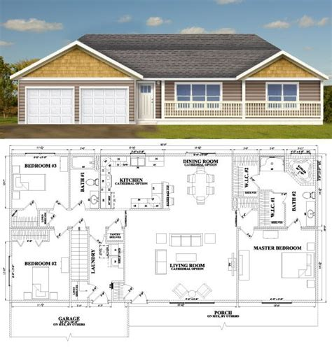 Wardcraft Homes Floor Plans by 90 Best Images About Floorplans Ranch On