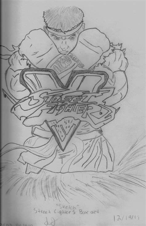 Fighter V Sketches by Ryu Fighter V Sketch By Theobcobi On Deviantart