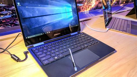 1 Samsung Notebook 9 Pro Samsung Notebook 9 Pro Comes With An S Pen Cnet