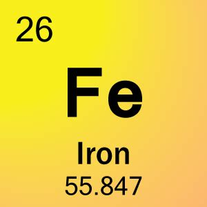 Symbol For Iron On Periodic Table by Element 26 Iron Science Notes And Projects