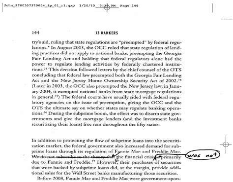 Sle Of Research Paper With Footnotes And Bibliography by The Calomiris Wallison Citation 13 Bankers