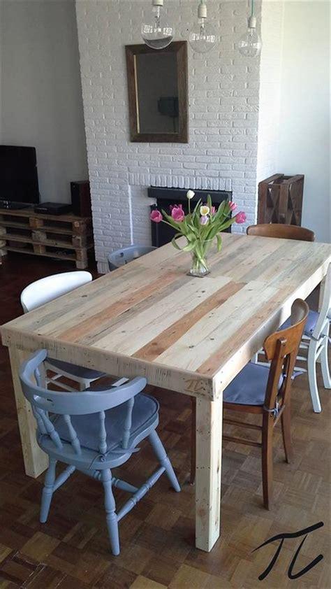 Attrayant Table Basse En Palette De Bois #9: Table-a-manger-palette-diy.jpg