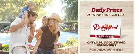 Dollywood Sweepstakes 2016 - don t miss dollywood s 30 days of thanks hometown sevier