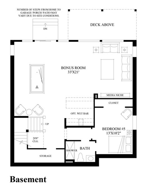 design your own basement floor plans pinecrest at issaquah highlands the whistler with