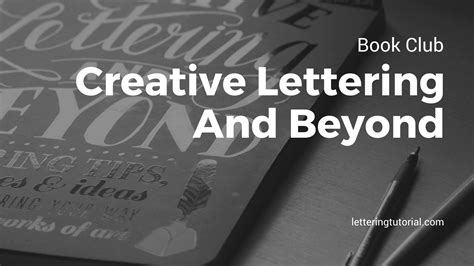 lettering tutorial book book club creative lettering and beyond