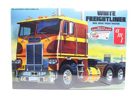 new truck models white freightliner dual drive truck tractor amt 620 1 25