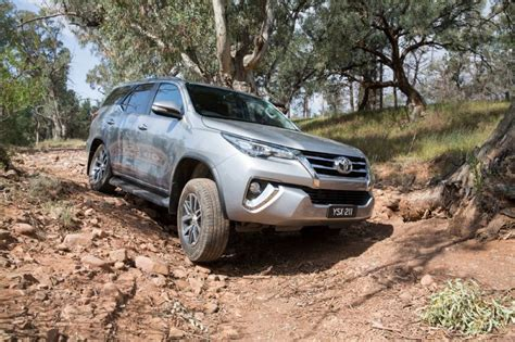 Toyota Fortuner Road 2016 Toyota Fortuner 7 Seat Suv On Sale In Australia From