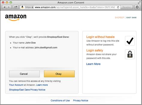 amazon developer login with amazon conceptual overview login with amazon
