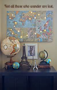 wall map for room travel wall on travel gallery wall travel