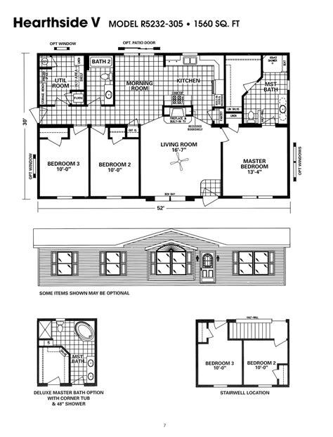 schult modular home floor plans schult hearthside v excelsior homes west inc