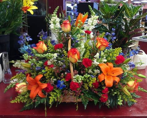 Funeral Baskets by Funeral Basket Flowers