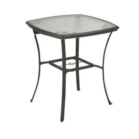 Martha Stewart Patio Table Martha Stewart Living Augusta Patio Bar Table Discontinued Augusta Bar Table The Home Depot