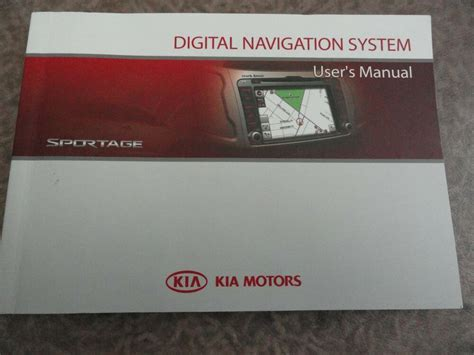car repair manual download 2008 kia sportage navigation system 2009 2010 kia sportage audio and navigation owners manual ebay