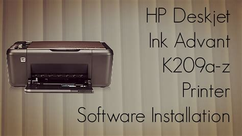 reset hp deskjet k209a hp deskjet ink advant k209a z printer software