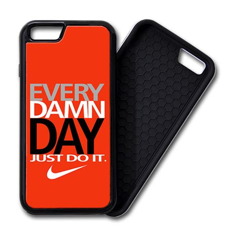Iphone 6 6s Plus Nike Just Do It Colorfull Hardcase nike every damn day just do it iphone 6 6 plus premium cover creativgoods