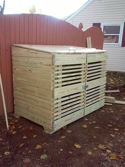 Outdoor Trash Storage Shed by 1000 Images About Best Trash Can Storage Sheds On