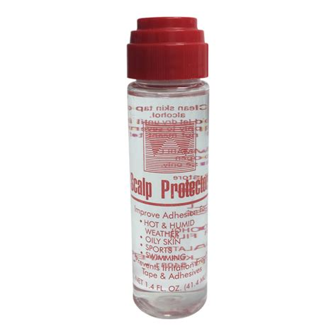 Scalp Protector 1 3 Oz scalp protector is required if you desire a stronger longer lasting hold with your hairpiece